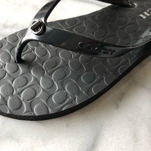 Coach sandals flip flops